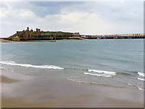 SC2484 : Peel Beach and Castle by David Dixon