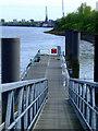 NS5267 : Braehead pontoon by Thomas Nugent