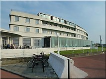 SD4264 : The Midland Hotel, Morecambe by Paul Buckingham