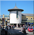 TQ8109 : Priory Meadow Shopping Centre by Oast House Archive