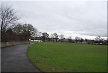 NT2273 : Rugby pitch next to Murrayfield by N Chadwick