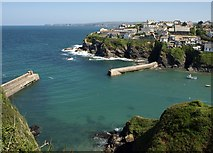 SW9980 : The Haven, Port Isaac by Derek Harper