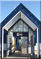 TA0488 : Car park pay station, Brunswick Centre by Pauline E