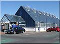 TA0488 : Pay station and lifts, Brunswick Centre by Pauline E