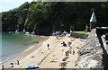 SX1151 : Readymoney beach, Fowey by Chris Allen