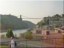 ST5672 : Bristol : Clifton Suspension Bridge & River Avon by Lewis Clarke