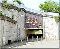 SO2701 : Rugby mosaic, George Street, Pontypool by Jaggery