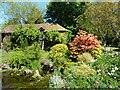 TR0050 : The Oast House Tea Rooms, Beech Court Gardens, Challock by pam fray