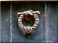 TG0834 : Old doorknocker on 17th century house by Evelyn Simak