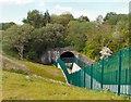 SJ8996 : Reservoir outfall by Gerald England