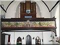 SX8268 : The millennium tapestry in Denbury church by David Smith
