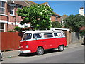 TQ8210 : Volkswagen Transporter on Collier Road by Oast House Archive