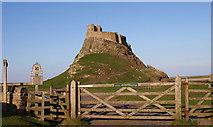 NU1341 : Lindisfarne Castle, Holy Island by wfmillar