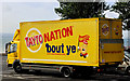 "J3683 : ""Tayto"" van, Jordanstown by Albert Bridge"