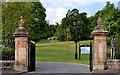 J3278 : Gates, Belfast Castle (1) by Albert Bridge