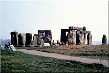 SU1242 : Stonehenge - 1987 by Helmut Zozmann