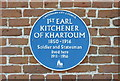 Photo of Horatio Kitchener blue plaque