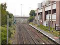 SJ8096 : Manchester United Rail Station by David Dixon