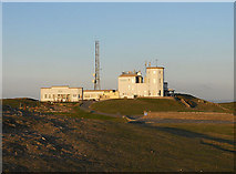 SH7683 : Buildings on the summit of Great Orme by Row17