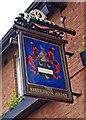 SJ9198 : The Sheldon Arms (2) - sign, 2 Lord Sheldon Way, Ashton-under-Lyne by P L Chadwick