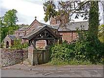 NY6819 : Lytch gate, St Michael's Church, Bongate, Appleby by Andrew Curtis