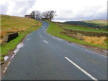 NZ0200 : Minor road near Reeth by Maigheach-gheal