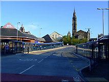 NS2776 : Greenock bus station by Thomas Nugent