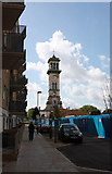 TQ3084 : Clock Tower, Caledonian Park by John Salmon