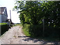 TM2962 : Footpath to the B1116 Woodbridge Road by Adrian Cable