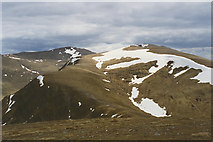 NN6143 : View south from Meall a' Choire Leith by Nigel Brown