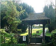 SU8499 : Entrance to Speen Baptist church by Graham Horn