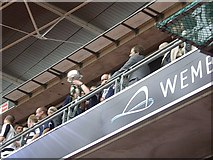 TQ1985 : Wembley Stadium: Darlington 1 v Mansfield 0 by Stanley Howe