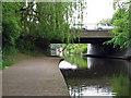 SK5538 : Nottingham Canal: Lenton Lane Bridge by John Sutton