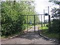 SJ4470 : Entrance to sewage works on Picton Lane by Jeff Buck