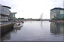 SJ8097 : North Bay, Salford Quays, Salford by P L Chadwick