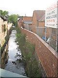 SP0278 : River Rea, Northfield by Michael Westley