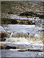 NY8801 : River Swale from Park Bridge by Maigheach-gheal