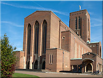 SU9850 : Guildford Cathedral by Trevor Littlewood