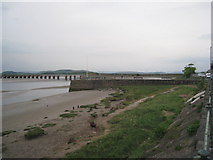 SD4578 : Arnside Pier and the Kent Viaduct by Jonathan Thacker