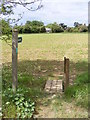 TM3054 : Footpath to St.Peter & St.Paul's Church & Walnuts Lane by Adrian Cable