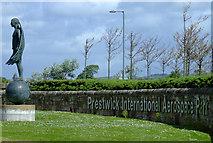 NS3428 : Prestwick International Aerospace Park by Thomas Nugent
