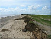 TA4115 : Beach and soft cliffs, Kilnsea Warren by JThomas