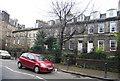 NT2474 : Georgian Terrace, Stockbridge by N Chadwick