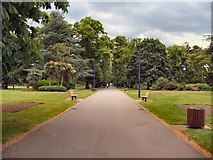 SU4212 : Path in East (Andrews) Park by Paul Gillett