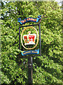 TQ3976 : Sign for the Crown pub by Stephen Craven