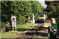 TG1001 : High Speed Train at Cavick Road Level Crossing, Wymondham by Glen Denny