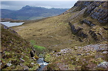 NG8145 : Coire na Poite from mid-height by Jim Barton