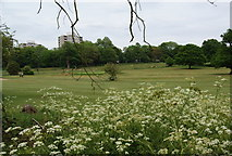 TQ2173 : The pay and play golf course in Richmond Park by Bill Boaden