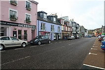 NR8668 : View towards the Anchor Hotel, Tarbert by Michael Jagger