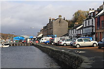 NR8668 : View of Tarbert Waterfront by Michael Jagger